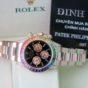 Bán đồng hồ rolex daytona 116505 – Vàng hồng 18k – độ Rainbow – size 40mm