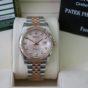 Bán đồng hồ rolex datejust 6 số 116231 – đè mi vàng hồng 18k – mặt vi tính – size 36mm