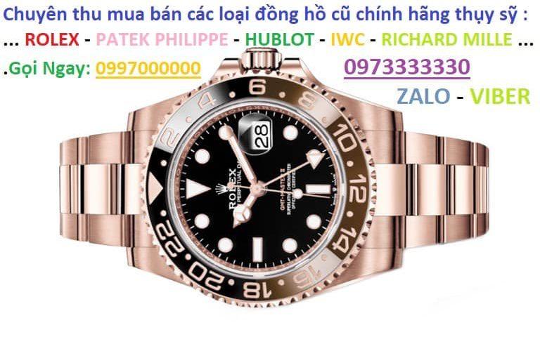 Thu – mua – đồng – hồ – rolex – cũ – chính – hãng – giá – cao – 0973333330