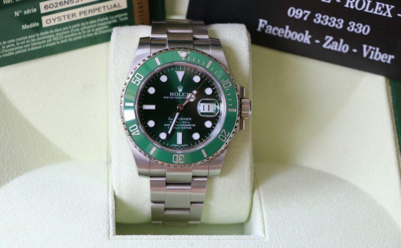 Đồng hồ rolex submariner 116610LV – Vành xanh Ceramic – Inox – Size 40mm