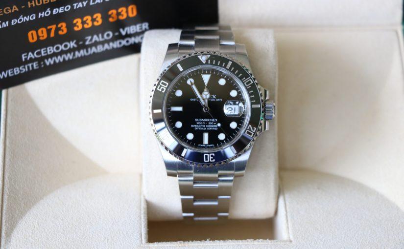 Đồng hồ rolex submariner sport 6 số 116610 – Vành đen ceramic – size 40.mm