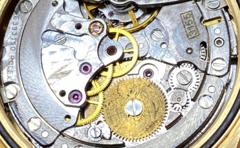 Lau dầu đồng hồ rolex – vệ sinh máy móc rolex 3155 – 3135 – 3235 …