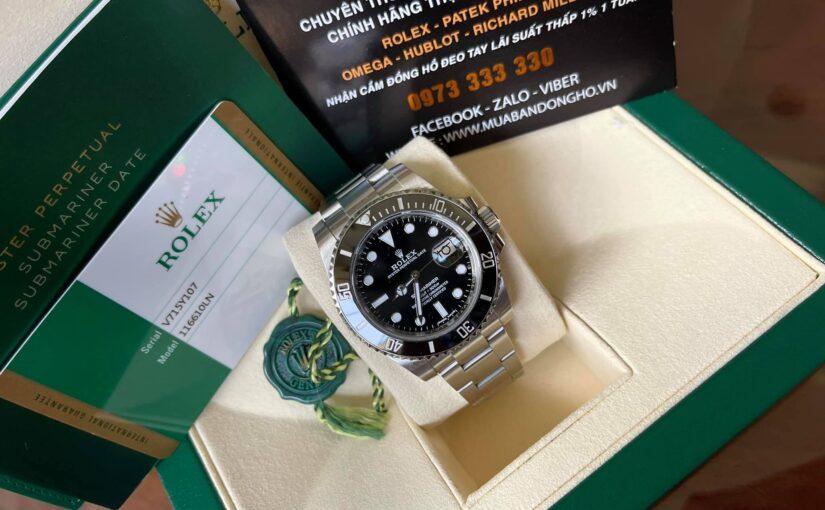 Đồng hồ rolex submariner 6 số 116610 – Vành ceramic – size 40mm