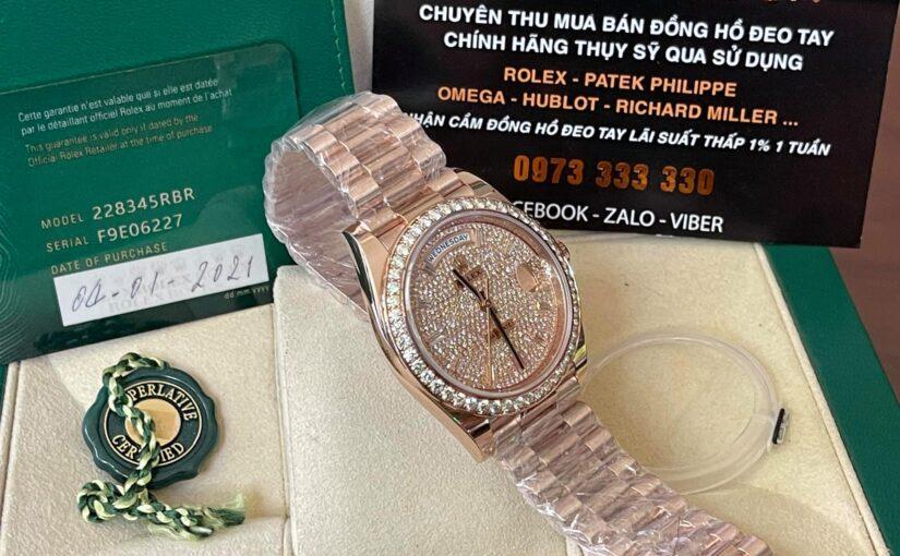 Địa chỉ nào thu mua lại đồng hồ rolex cũ giá cao ????