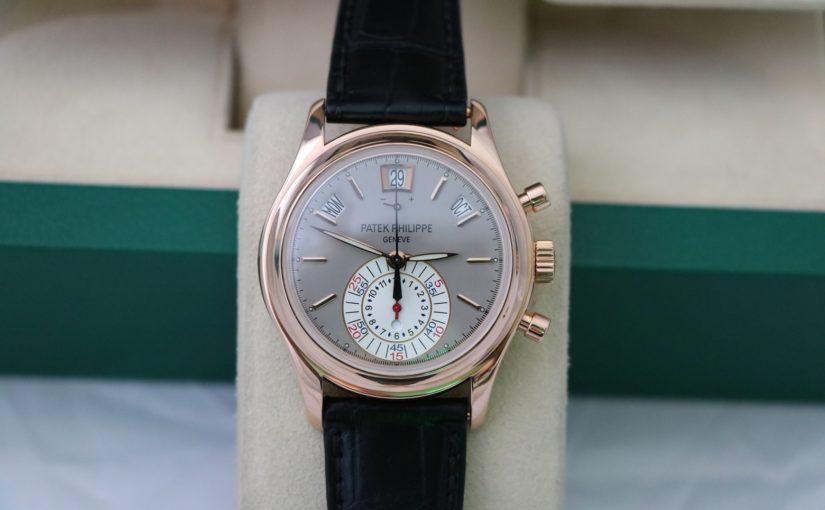 Bán đồng hồ patek philippe 5960r – Vàng hồng 18k – dây da – size 40mm