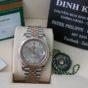 Đồng hồ rolex date just 6 số 126331 – Đè mi vàng hồng – size 41mm