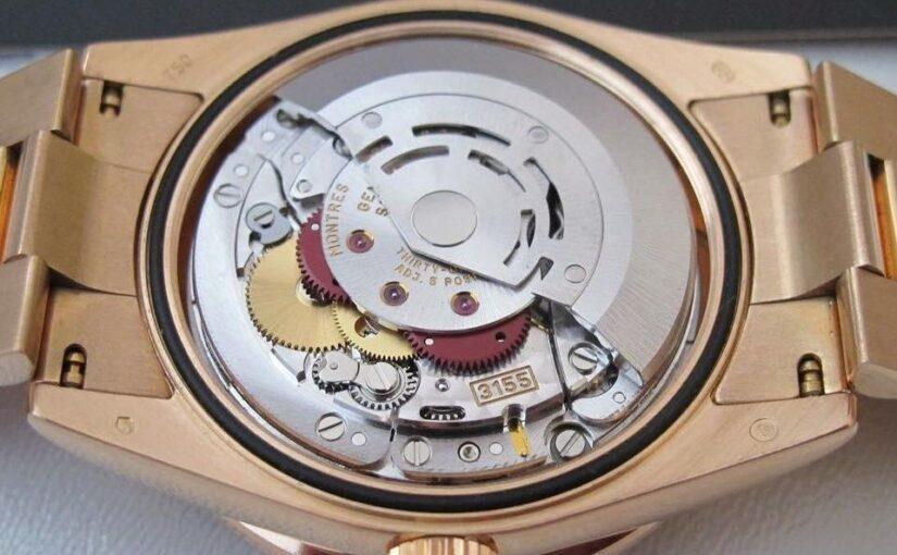 Cách Phân biệt máy móc đồng hồ rolex thật giả – rolex caliber
